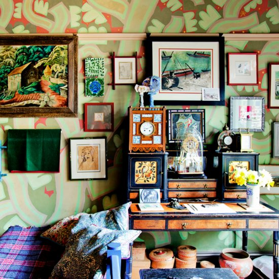 "Spotlight on British ""Miximalist"" Interior Designer and Color Master"