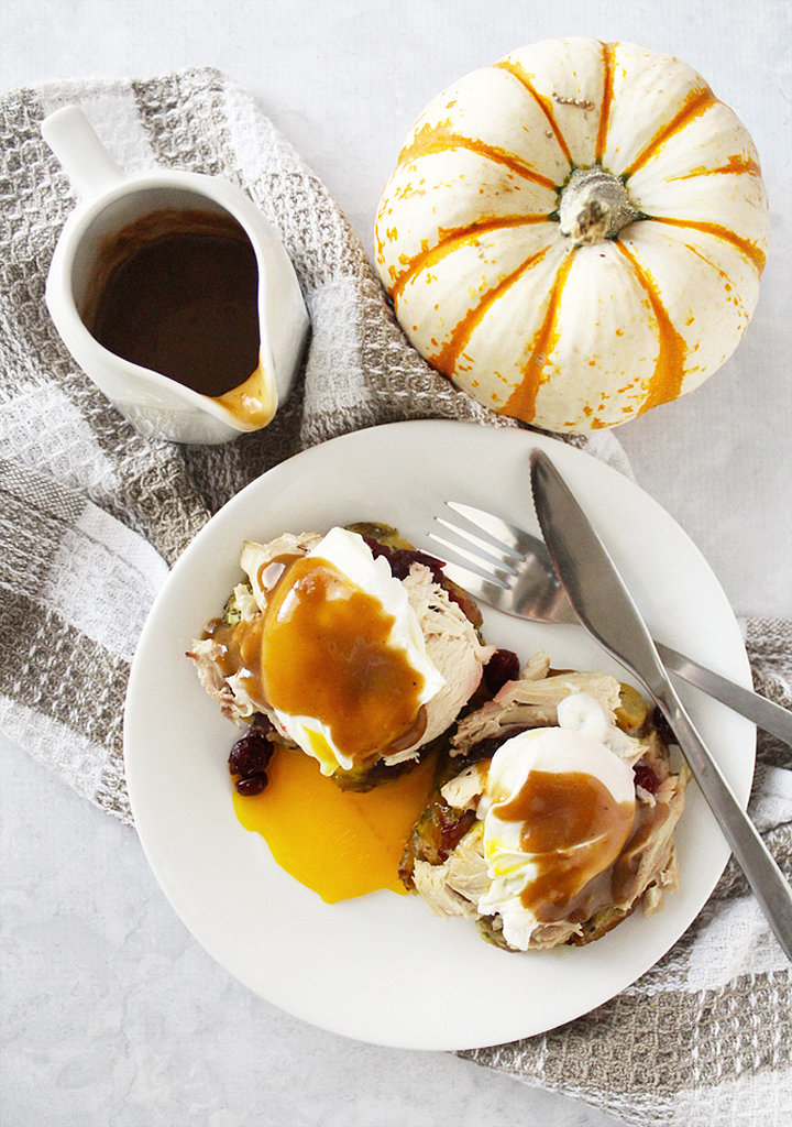 Thanksgiving Leftovers Eggs Benedict | 23 Inspired Ways to Put ...