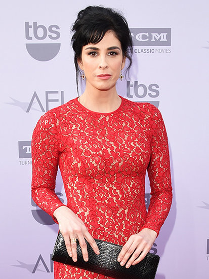 Sarah Silverman on Boyfriend Michael Sheen: 'He Classes Me Up'