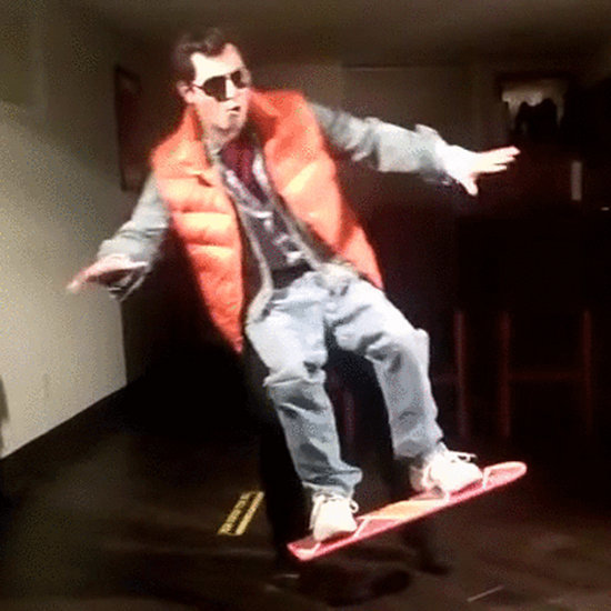 Levitating Back to the Future Hoverboard Costume