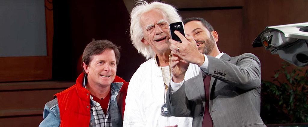 Great Scott! Marty McFly and Doc Brown Time-Travelled to Jimmy Kimmel Live