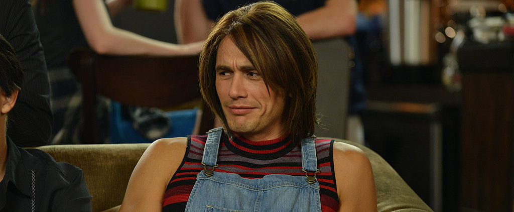 """James Franco Plays Both Rachel and Joey in a """"Very Special"""" Episode of Friends"""