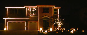 This Halloween Light Show Is So Insane, You Have to See It to Believe It