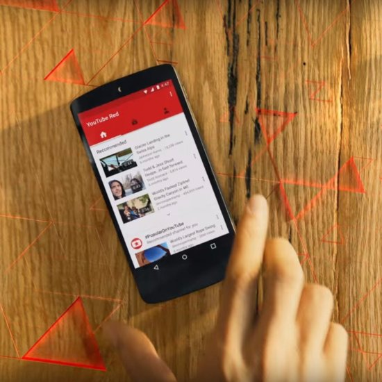Google Movie Subscription Service YouTube Red