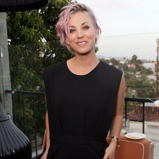 Kaley Cuoco Posts Pictures of Her Dog on Instagram