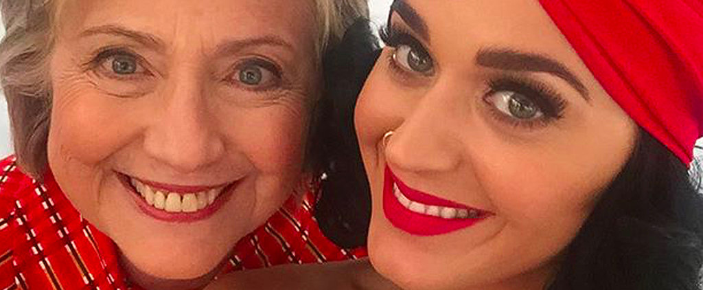 Katy Perry Rallies With Hillary Clinton