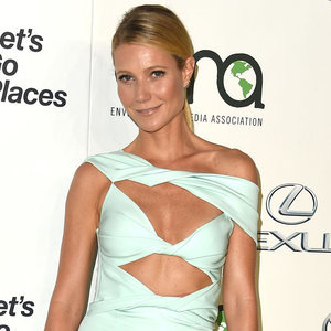 Gwyneth Paltrow in Cushnie et Ochs Cut Out Dress