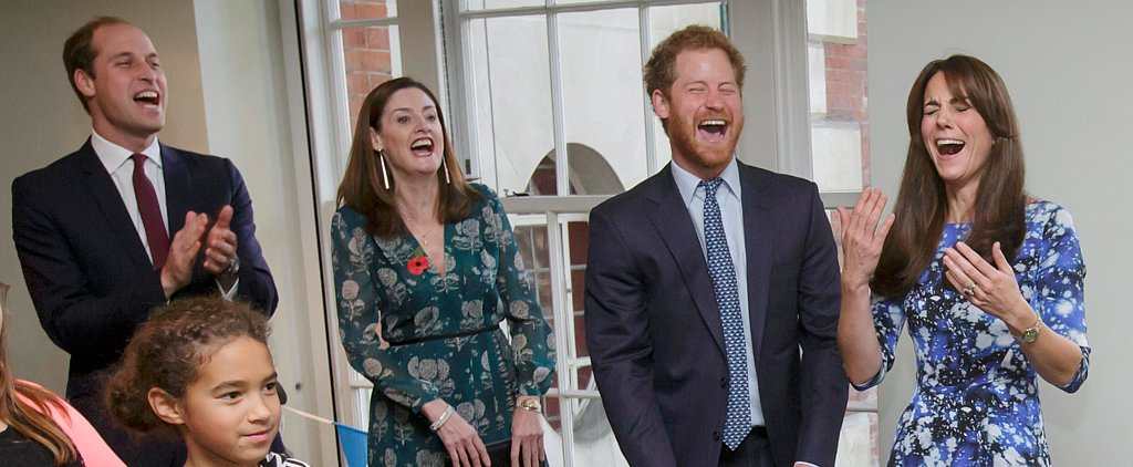 Kate, Will and Harry Link Up For a Children's Charity Event in London