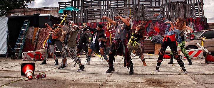 These Zumba Zombies Are Guaranteed to Get You Dancing