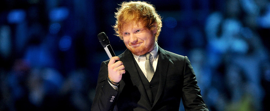 Ed Sheeran Really WENT THERE With Ruby Rose at the MTV EMAs