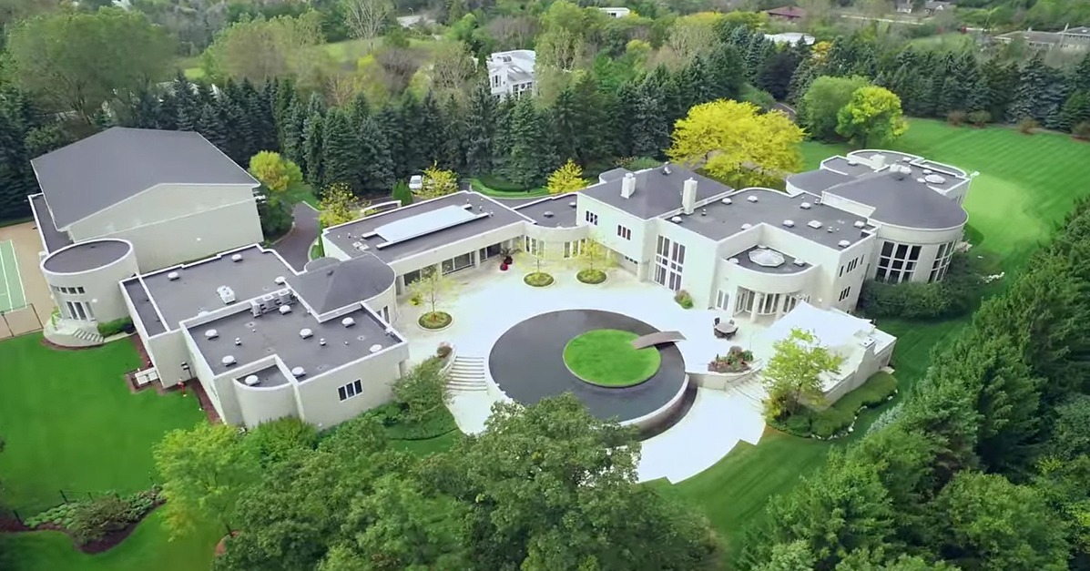 Real Estate Videos For Michael Jordan 39 S Estate Popsugar Home
