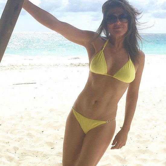 Wowza! Check Out 50-Year-Old Elizabeth Hurley's Bikini Photos