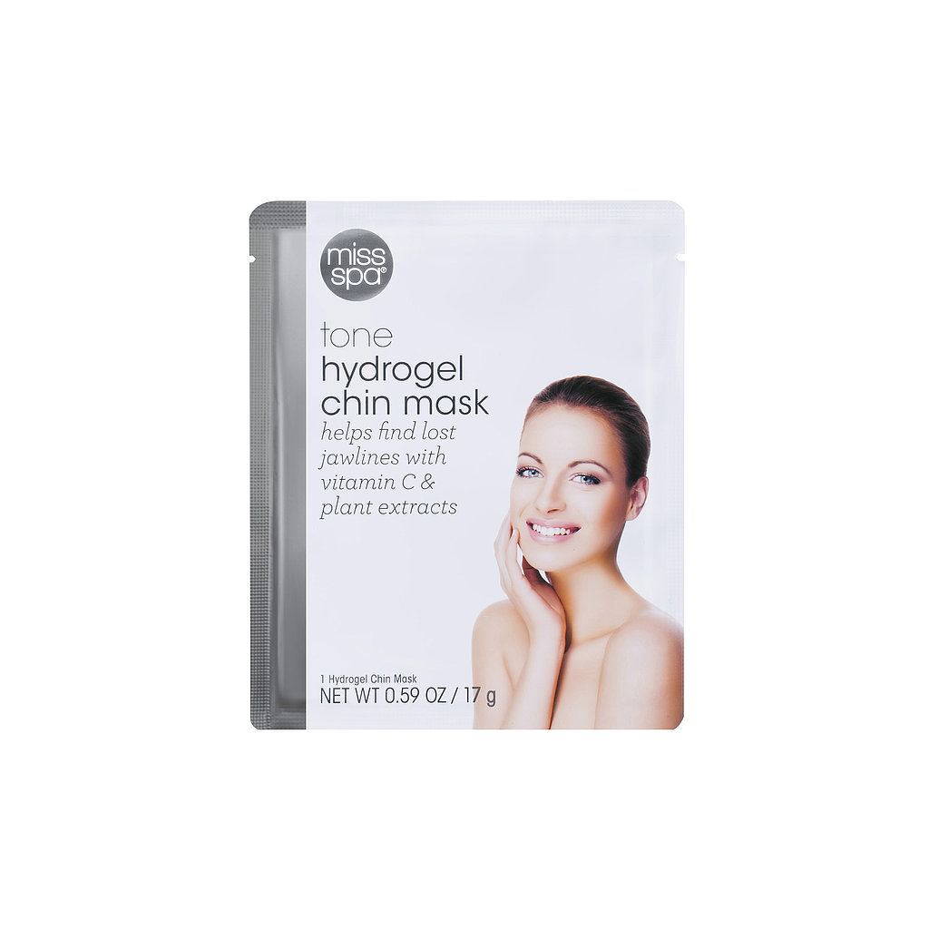 Best for: Someone with an at-risk chin.  If your grandma's jawline makes you yearn for the Fountain of Youth, take a deep breath and relax. The Miss Spa Hydrogel Chin Mask ($6) hooks around your ears and acts like a sling for sagging jowls, using plant extracts to firm crepiness.
