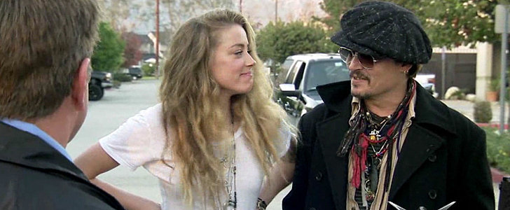 Johnny Depp Pranked Amber Heard and Her Reaction Is Absolutely Priceless
