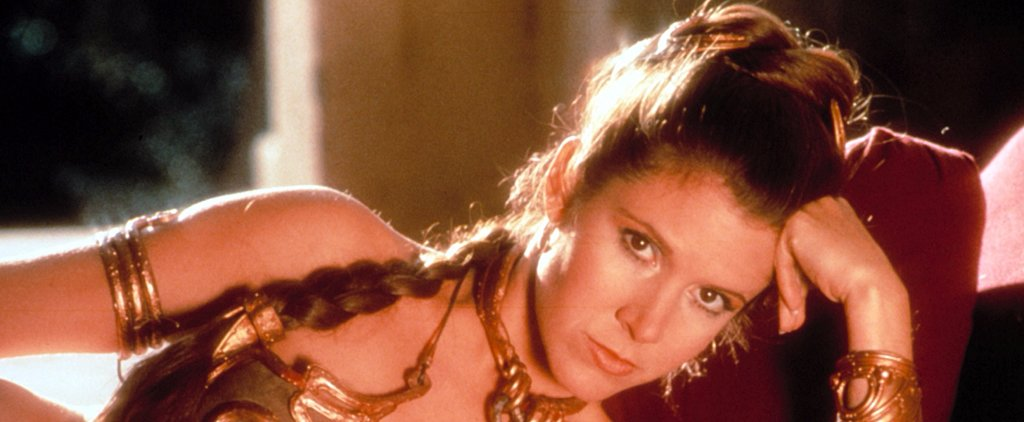 Carrie Fisher Has Some Strong Words For Her Star Wars Slave Girl Outfit
