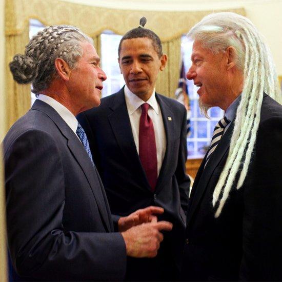 Politicians With Man Buns
