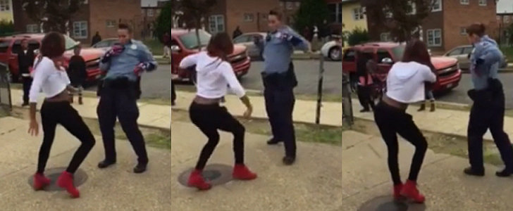 This Cop vs. Teen Dance-Off Will Blow Your Mind