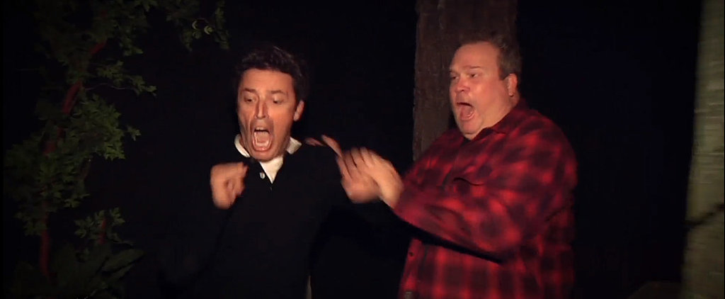 Eric Stonestreet Freaking Out in a Haunted House Is All of Us