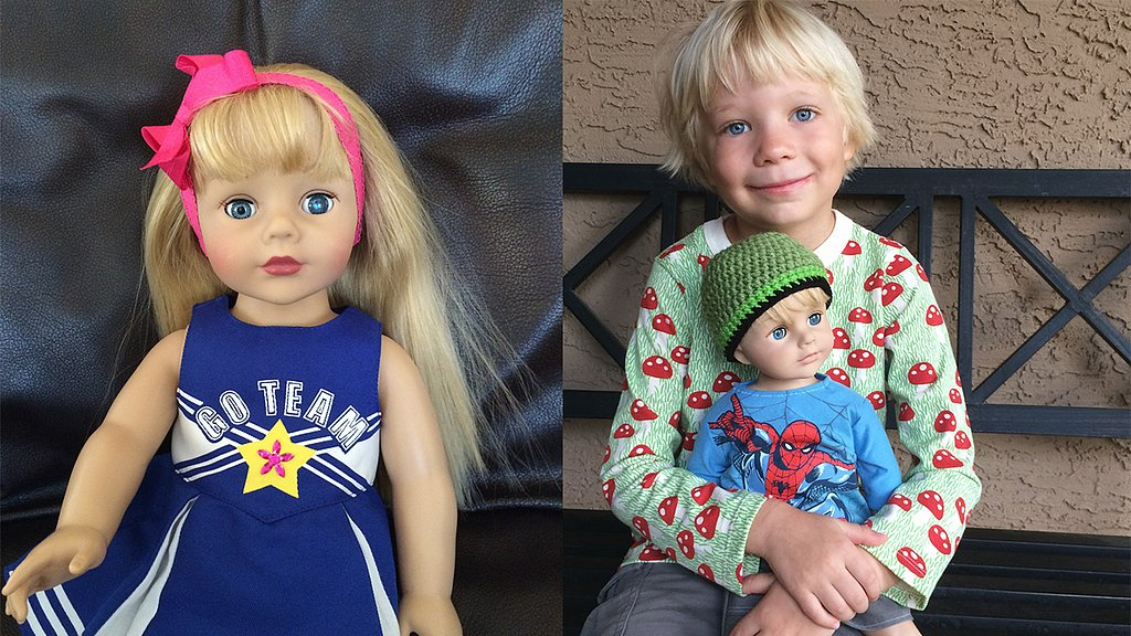Mom's DIY American Boy Doll Shatters Gender Stereotypes
