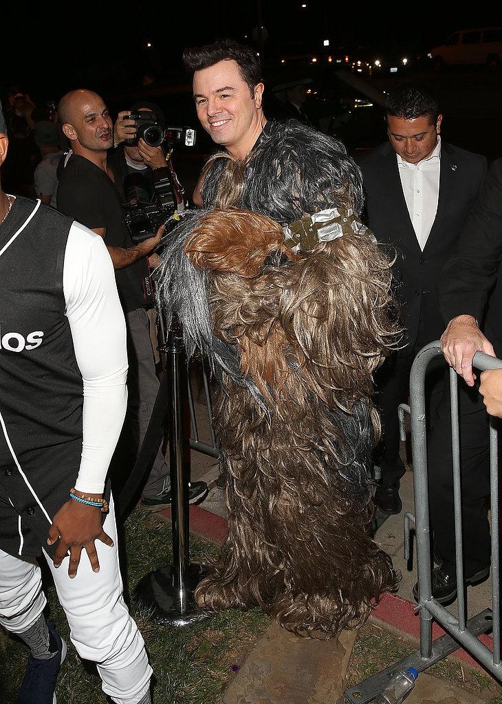 Seth MacFarlane as Chewbacca