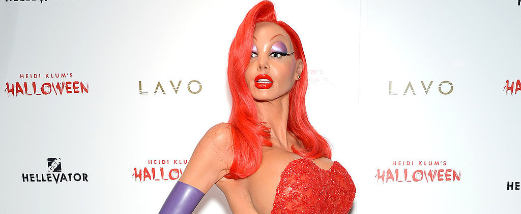 You Definitely Won't Recognize Heidi Klum in This Jessica Rabbit Halloween Costume