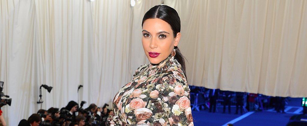 Kim Kardashian Rewore Her Old Met Gala Dress For Halloween — and It Was Hilarious
