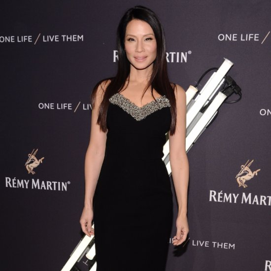Lucy Liu Posts a Picture of Baby Rockwell on Instagram