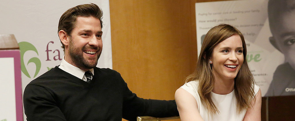 Emily Blunt and John Krasinski Cook For Charity