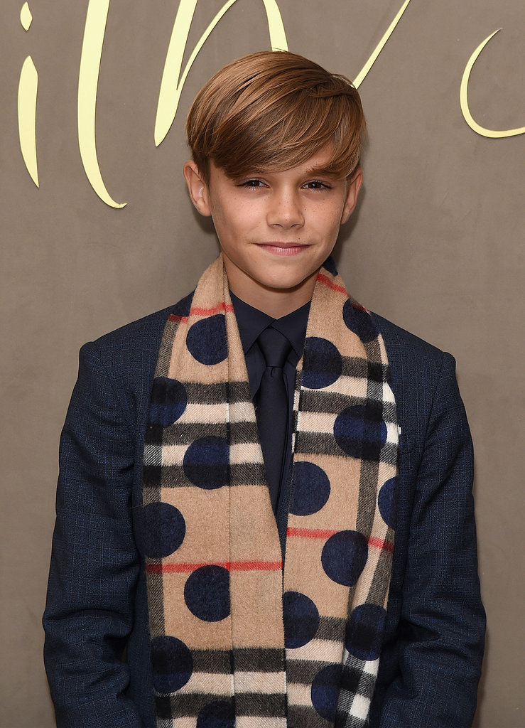Pictured: Romeo Beckham
