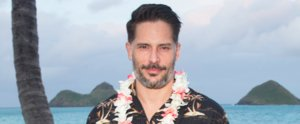 Joe Manganiello Gets Lei'd at the Virgin America Hawaii Launch Party