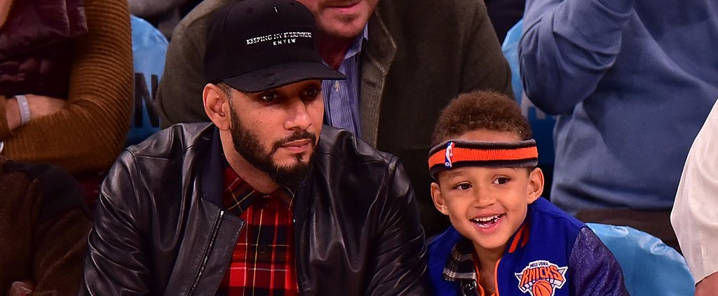 Swizz Beatz's Son Steals the Show Courtside at the New York Knicks Game
