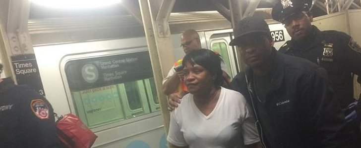 This Brave Man Jumped Onto Subway Tracks to Save a Fallen Baby
