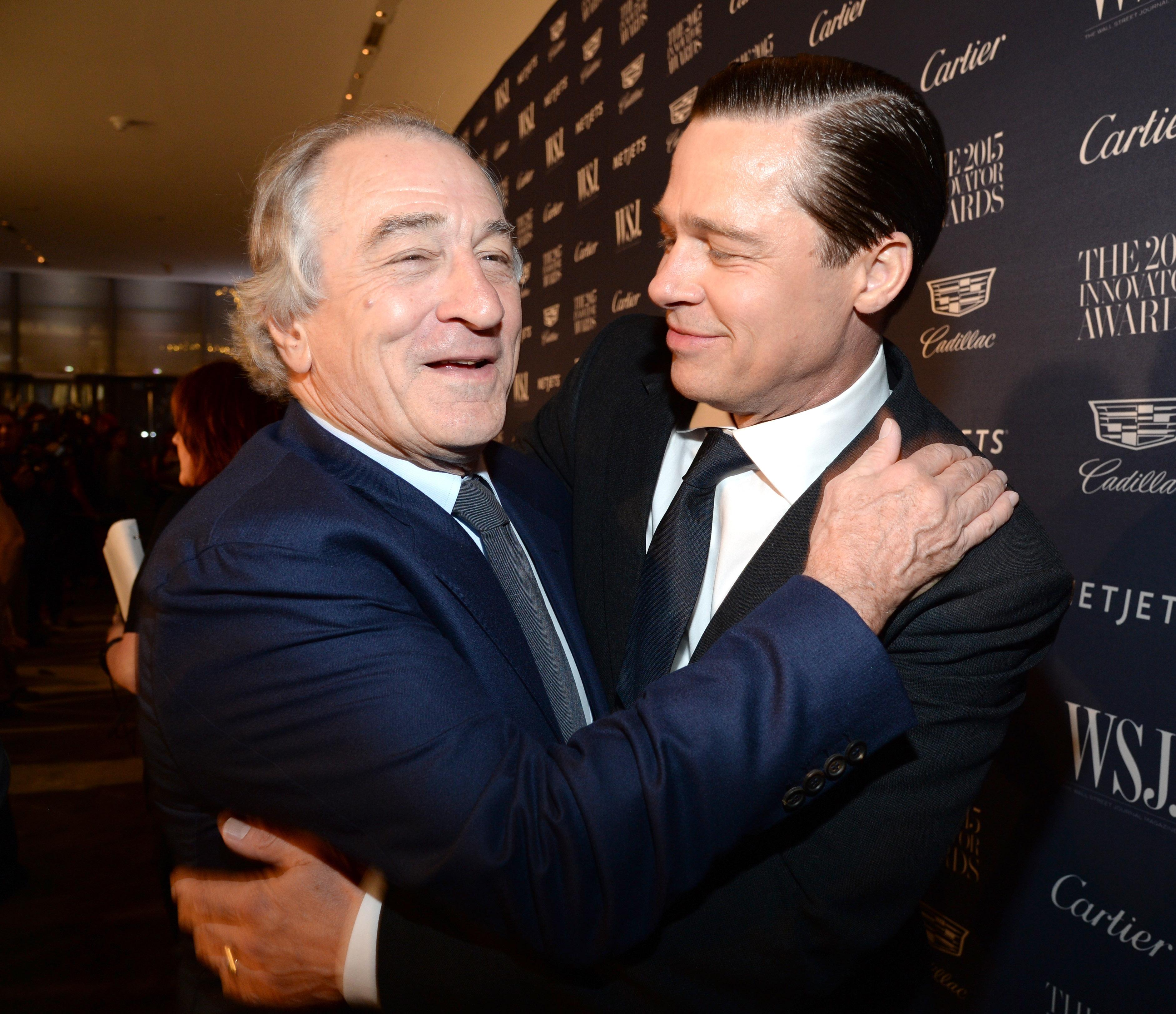Robert De Niro ...