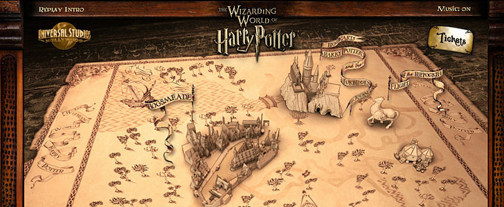 Mischief Managed: Get a Sneak Peek of the New Wizarding World of Harry Potter