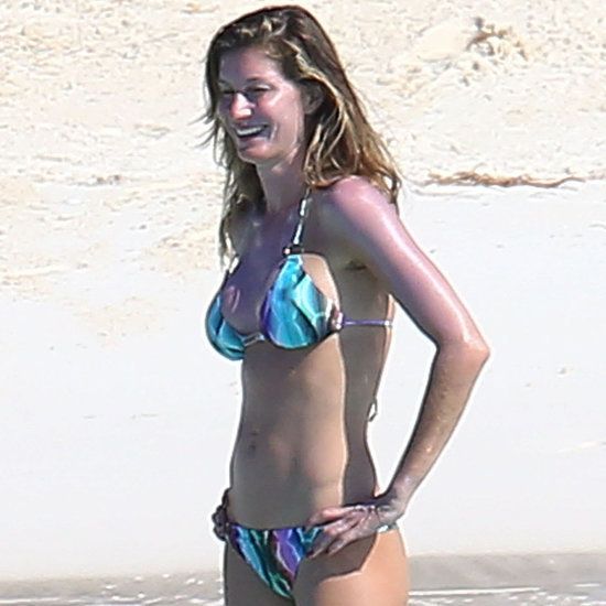 Gisele Bundchen in a Bikini After Rumored Plastic Surgery