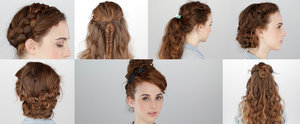 7 Days of Easy Curly Hairstyles