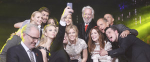 The Hunger Games Cast Takes Their Selfie Game to the Next Level