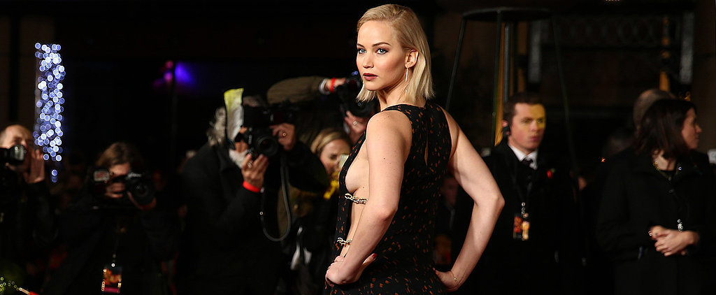Jennifer Lawrence Looks Hot Enough to Cause a Rebellion at the Mockingjay Premiere
