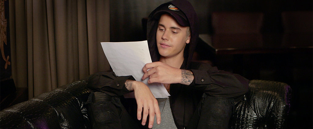 Forget Mean Tweets! Justin Bieber Reads the Sweetest Messages From His Fans