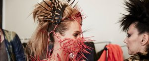 Hunger Games Exclusive: See Hannah Davis Dressed in Capitol Couture