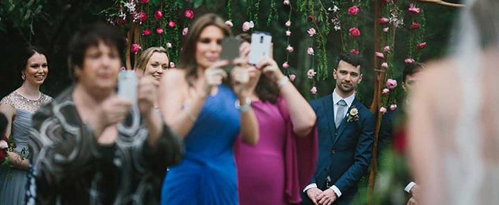 This Depressing Photo Captures What's Wrong With Weddings These Days