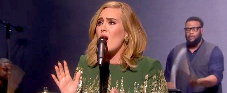 """The First Time Adele Sings """"Hello"""" Live Is Obviously Earth-Shattering"""