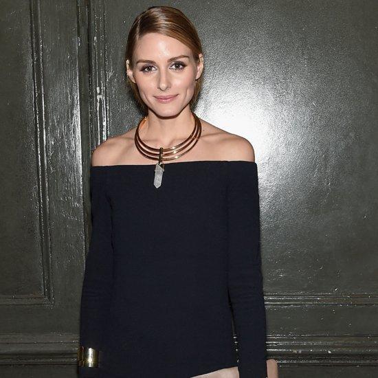Olivia Palermo Wearing Tibi Dress and Pants