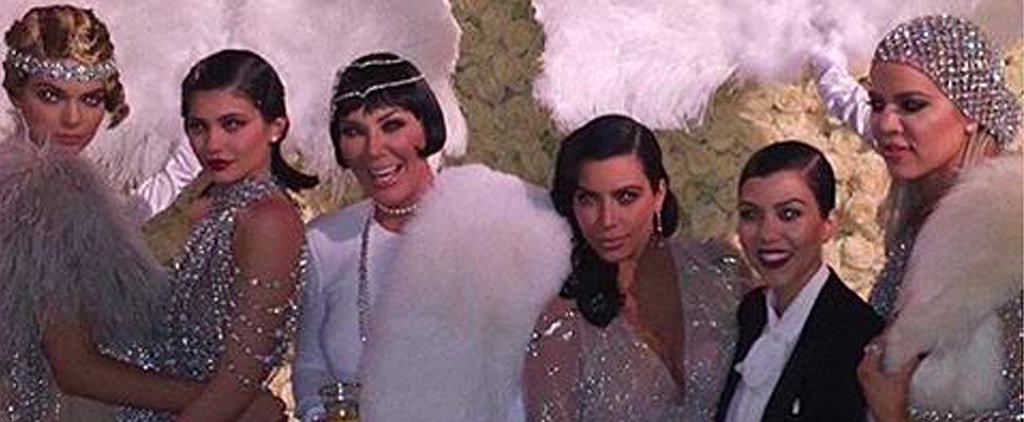 The Kardashians Take It Back to the Roaring '20s For Kris Jenner's 60th Birthday Bash