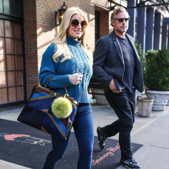 Jessica Simpson and Eric Johnson in NYC November 2015