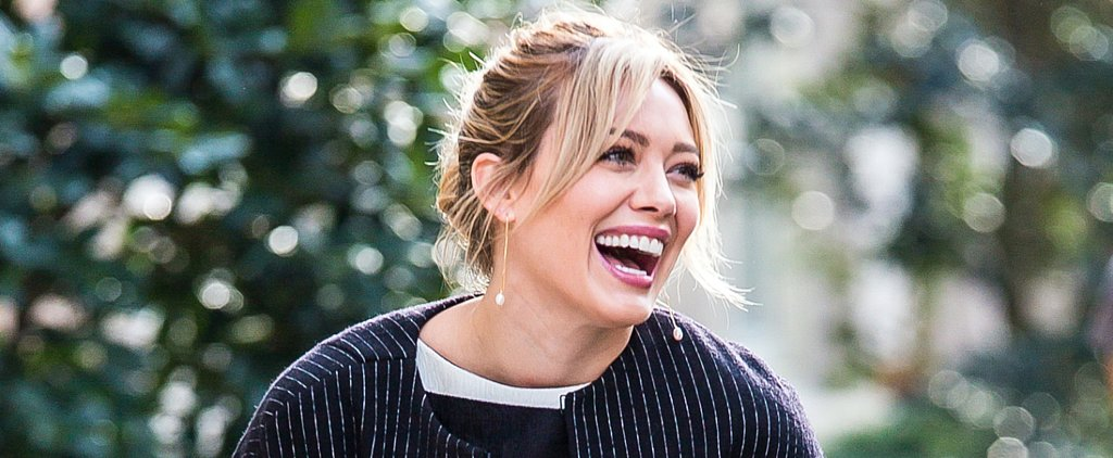 Hilary Duff Looks Like the Perfect Advertisement For Fall