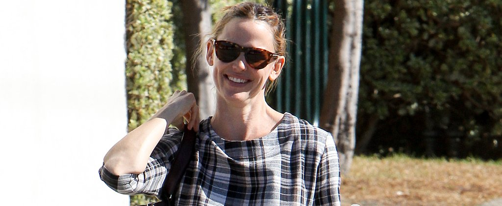 Jennifer Garner Flashes Her Famous Grin While Leaving Church in LA
