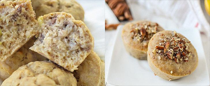 Fluffy and Light Vegan Banana Muffins