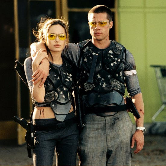 Brad Pitt and Angelina Jolie Movie Pictures