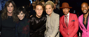 These Celebrities Had the Best Seats in the House For the VS Fashion Show